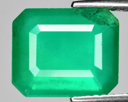 4.93 Cts Natural Vivid Green Colombian Emerald Loose Gemstone