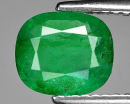 1.33 Cts Natural Vivid Green Colombian Emerald Loose Gemstone