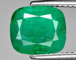 2.47 Cts Natural Vivid Green Colombian Emerald Loose Gemstone