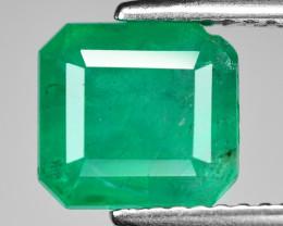 2.24 Cts Natural Vivid Green Colombian Emerald Loose Gemstone