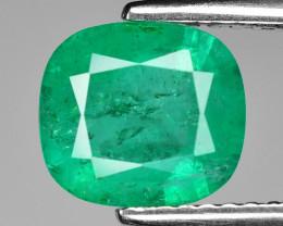 1.59 Cts Natural Vivid Green Colombian Emerald Loose Gemstone