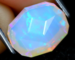 Welo Opal 2.09Ct Master Cut Natural Ethiopian Play Of Color Welo Opal B2904
