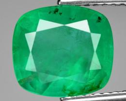 2.59 Cts Natural Vivid Green Colombian Emerald Loose Gemstone