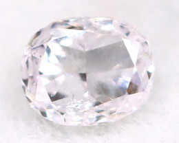Pink Diamond 3.3mm Natural Untreated Fancy Pink Diamond A2911