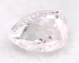 Pink Diamond 3.1mm Natural Untreated Fancy Pink Diamond A2913