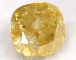 0.11Ct Yellow Diamond Natural Untreated Fancy Diamond C2902