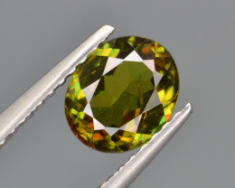 Natural Color Changing Chrome Sphene 0.98 Cts from Skardu, Pakistan