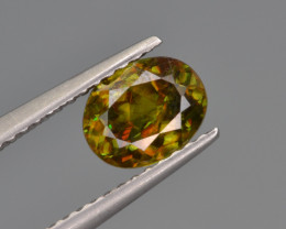Natural Color Changing Chrome Sphene 1.10  Cts from Skardu, Pakistan