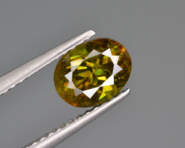 Natural Color Changing Chrome Sphene 1.37 Cts from Skardu, Pakistan
