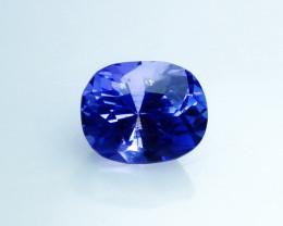 0.80 CT Natural - Unheated Blue Tanzanite Gemstone