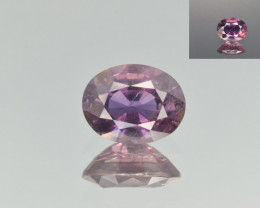Natural Color Changing Sapphire 2.24 Cts from Madagascar