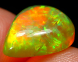 Honeycomb Welo Opal 2.11Ct Natural Ethiopian Flash Color Welo Opal A3001