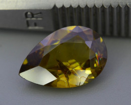 Top Fire 2.45 ct Natural Sphene