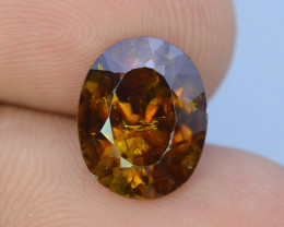 Top Fire 3.75 ct Natural Sphene