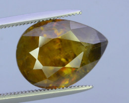 Top Fire 5.50 ct Natural Sphene