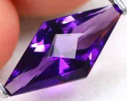 Amethyst 2.22Ct VVS Master Cut Natural Bolivian Purple Amethyst A3017