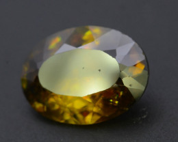 Top Fire 5.75 ct Natural Sphene