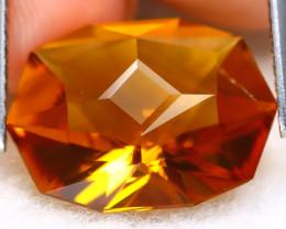 Madeira Citrine 5.14Ct VVS Master Cut Natural Orange Citrine A3018