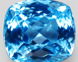 36.20  ct. Natural Earth Mined Top Quality  Blue Topaz Brazil - IGE Сertifi