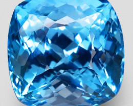 42.86 ct. Natural Earth Mined Top Quality  Blue Topaz Brazil - IGE Сertifie