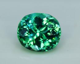 NR Auction 6.65 Grams Amazing Lush Green Hiddenite Kunzite Gemstone