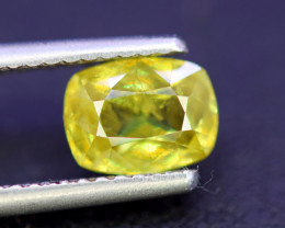 Sphene Titanite, 1.95 CT Natural Full Fire Sphene Titanite Gemstone