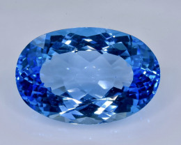 31.37 Crt  Topaz Faceted Gemstone (Rk-71)