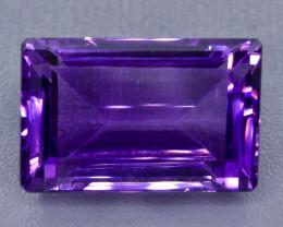 41.49 Crt Amethyst Faceted Gemstone (Rk-71)