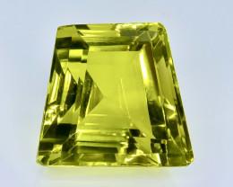 26.89 Crt  Lemon Quartz Faceted Gemstone (Rk-71)