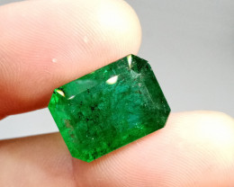 Certified 18.80cts  Afghanistan Emerald , 100% Natural Gemstone