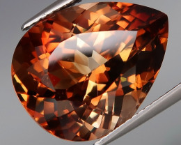 18.31 ct. 100% Natural Earth Mined Topaz Orangey Brown Brazil