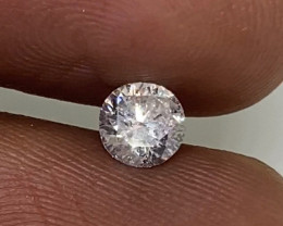 (G) Certified $1174 Fiery  0.56cts SI2 White Loose Diamond Round  Natura