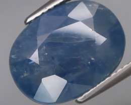 10.73 Ct.  Cornflower Blue UNHEATED Natural Earth Mined Sapphire Ceylon, Sr
