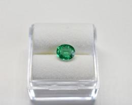 0.63 Carats Vivid Green AFGHAN (Panjshir) Emerald!
