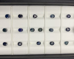 8.14 CT Sapphire Gemstones Parcel