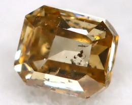 Champagne Diamond  2.6mm  Natural Untreated Fancy Diamond C0101
