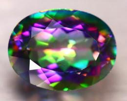 Mystic Topaz 18.20Ct Natural IF Mystic Rainbow Topaz DR270/A46
