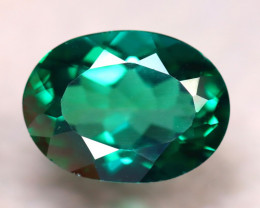 Green Topaz 11.06Ct Natural VVS Green Topaz DR272/A48