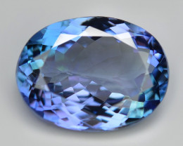 4.15 Cts  Amazing rare Violet Blue Color Natural Tanzanite Gemstone
