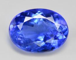Tanzanite 1.79 Cts Rare Violet Blue Color Natural Gemstone