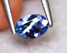 Tanzanite 0.85Ct Natural Purplish Blue Tanzanite DF0314/D3