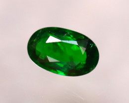 Tsavorite 0.73Ct Natural Intense Vivid Green Color Tsavorite Garnet DF0320