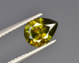 Natural Color Changing Chrome Sphene 1.16 Cts from Skardu, Pakistan