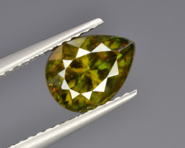Natural Color Changing Chrome Sphene 1.68 Cts from Skardu, Pakistan