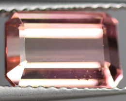 2.29CT 9X6MM Padparadscha Color Excellent cut Mozambique Tourmaline -PTA314