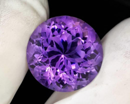19.44 CT RARE INDONESIAN AMETHYST + CERTIFIED