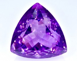34.12 Crt Natural Amethyst Faceted Gemstone.( AB 96)