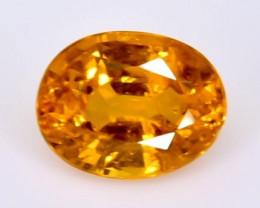 0.97 Crt Natural  Spessartite Garnet Faceted Gemstone.( AB 96)