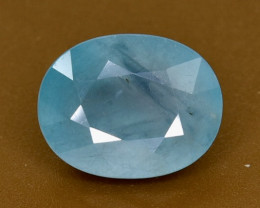 1.90 Crt Natural  Grandidierite Faceted Gemstone.( AB 96)