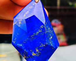 "AAA LAPISLAZULI "" MADANI"" -Afghanistan Beautiful pendant, handmade in Germa"